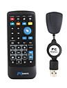 multimedia ir fjärrkontroll med USB-mottagare för pc (1 * CR2025)