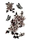 #(5) Tatouages Autocollants Series de fleur Motif ImpermeableHomme Femelle Adolescent Tatouage Temporaire Tatouages temporaires