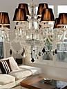 lustre en cristal elegant avec 12 lumieres