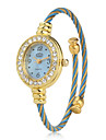 Women's Metal Analog Quartz Bracelet Watch (Blue) Cool Watches Unique Watches