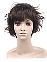 Capless Short Fashion And Beautiful Repair Face Charm Synthetic Wig full bang 3 Colors To Choose