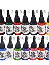 hög kvalitet 14 färger tatuering bläck som 14 * 15 ml