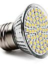 5W E26/E27 Spot LED PAR38 60 SMD 3528 400 lm Blanc Chaud AC 100-240 V