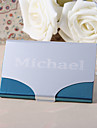 Personalized Metal Name Card Holder