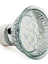 1,5w gu10 led spotlight mr16 18 high power led 60-80 lm varm vit AC 220-240 v