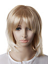 Capless Fashion Blonde Straight Wavy Hair Wig