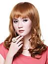 Capless Top-Qualitaet aus 100% Human Hair Fashion Golden Blonde Peruecke