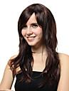 capless longo preto em linha reta perucas sinteticas