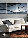Horloge murale scenique moderne dans la toile 3pcs k0008