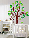 Children\'s Room Monkey Tree Wall Stickers