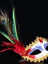Mask Cosplay Festival/Högtid Halloween Kostymer Röd Tryck Mask Halloween / Karnival / Nyår Unisex PVC