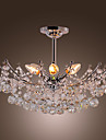 Lampara Chandelier de Cristal con 6 Bombillas - STOKE-ON-TRENT