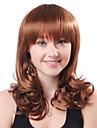Capless Long Blonde Curly hochwertige synthetische japanischen Kanekalon Peruecken