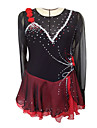 Skating Dresses Women\'s Black S / M / L / XL / 6 / 8 / 12 / 14 / 16