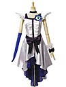 Inspire par PrettyCure Cure Moonlight Anime Costumes de cosplay Costumes Cosplay / Robes Mosaique Blanc Sans ManchesRobe / Casque /