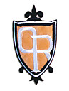 Bijoux / Badge Inspire par Lycee Host Club Mitsukuni Haninozuka Anime Accessoires de Cosplay Badge Blanc / Noir / Orange Polyester