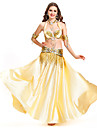 Dancewear Satin Belly Dance Performance Skirt For Ladies More Colors