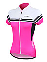 Santic Women\'s Cycling Jersey Short Sleeve 100% Polyester Breathable+Quick-Drying(2 Colors)
