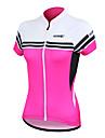 Santic kvinners sykling jersey korte ermer 100% polyester pustende + toerker raskt (2 farger)