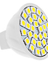 5W GU5.3(MR16) LED-spotlights MR16 30 SMD 5050 420 lm Naturlig vit DC 12 V