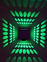 3 LED Integrat  Modern/Contemporan Galvanizat Caracteristică for LED Bec Inclus,Lumină Ambientală Lumina de perete