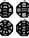 1PCS Nail Art Stamp Stamping Image Template Plate M Series NO.6(Assorted Colors)