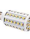10W E26/E27 LED-lampa T 60 SMD 5050 800 lm Varmvit DC 12 V