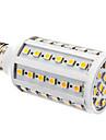 10W E26/E27 LED-lampa T 60 SMD 5050 800 lm Varmvit Dimbar AC 220-240 V