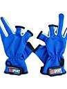 Professionell Flera färger Fiske Handskar för fiske (Storlek Average, färg Ramdon)