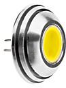 G4 1.5W 125-140LM 6000-6500K naturligt vitt ljus Rundade LED Spot Bulb (12V)