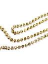 100PCS d\'or de diamants artificiels Nail Decorations 0.6cm