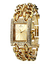 Women's Diamante Dial Analog Quartz Gold Steel Band Bracelet Watch (Assorted Colors) Cool Watches Unique Watches