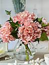 Une succursale Soie Hortensias Fleur de Table Fleurs artificielles #(8.8*8.8*12)