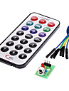 ir mottagarmodul trådlös fjärrkontroll kit för (för Arduino) (1 x CR2025)