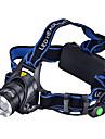 Belysning LED-Ficklampor / Pannlampor LED 1000 Lumen 3 Läge Cree XM-L T6 18650Camping/Vandring/Grottkrypning / Vardagsanvändning /