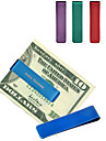 Gift Groomsman Lathy Stainless Steal Money Clip (More Colors)