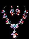 Women\'s Alloy Jewelry Set Rhinestone/Cubic Zirconia