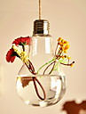 Table Centerpieces Hanging Buble Shaped Glass Vase  Table Deocrations