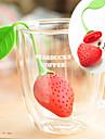 Belles fraises Cafetieres en silicone