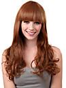 Capless Long sintetico luz dourada peruca de cabelo loiro encaracolado estrondo completa