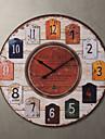 """Horloge murale de style h de pays de 23 """""""