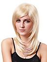 Senza cappuccio misto Capelli corti biondo dorato capelli lisci Parrucche (3 colori da scegliere