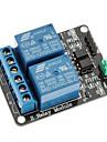 2 kanals 12v låg nivå utlösa relämodul för (för Arduino) (fungerar med den officiella (för Arduino) skivor)