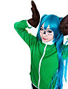 Inspired by Vocaloid Gumi Video Game Cosplay Costumes Cosplay Tops/Bottoms Patchwork Green Long Sleeve Coat