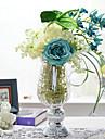 """20.45 """"elegant blomsterarrangemang med glas vas"""