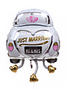 Wedding Décor  Car Metallic Balloon - Just Married