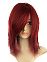 Capless synthetique rougeatre Golden Brown perruque de couleur Party