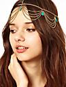 Bohemien Turqoise ciucuri Headband