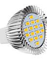 daiwl MR16 5W 16x5630smd 420-450lm 2500-3500k varmvitt ljus ledde spot lampa (220-240V)