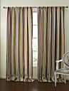 european två paneler band flerfärgade sovrum polyester panelgardiner draperier